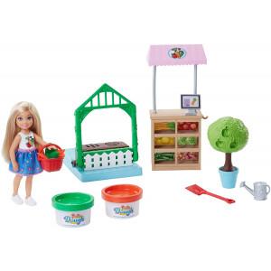 Barbie Chelsea Doll and Veggie Garden Playset