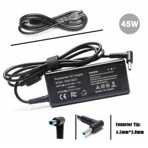 19.5V 2.31A 45W AC Adapter Laptop Charger for HP Spectre X360 Stream 11 13 14 Elitebook Folio 1040 G1 G2 G3 Split 13 Pavilion X360 Touchsmart 15 13 M6 G3 G4 G5 250 255;Dell Inspiron 15 11 13 14 17