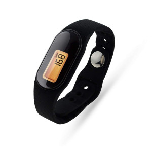 U-Trak 3D Pedometer Sport Wristband IP67 Waterproof Fitness Tracker with Accurately Track Steps/Distance/Calories,Exercise Time,Clock (No App,No Phone Need) for Walking Running Kids Men Women