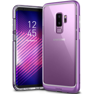 Caseology [Skyfall Series] Galaxy S9 Plus Case - [Clear Back/Premium Finish] - Lilac Purple