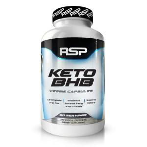 RSP Keto BHB - Exogenous Ketones 2400mg goBHB (60 Day Supply), Keto Fat Burner - Support Ketosis, Boost Energy, and Enhance Focus, Perfect Keto Weight Loss Capsules, Beta-Hydroxybutyrate BHB Salts