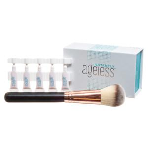 Jeunesse Instantly Ageless 25 Vials w/FREE Professional Makeup Brush | Instantly Ageless 25 Vial Box Set with FREE Professional Brush