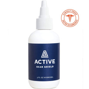 Scar Shield Scar Prevention Gel - Stop Scars BEFORE They Form. Doctor Recommended, Natural and Non-Toxic Scar Gel