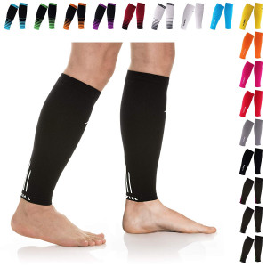 NEWZILL Compression Calf Sleeves (20-30mmHg) for Men and Women - Perfect Option to Our Compression Socks - for Running, Shin Splint, Medical, Travel, Nursing