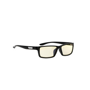 Gunnar Optiks RIO-00101 Riot Computer Glasses, Block Blue Light, Anti-Glare, Minimize Digital Eye Strain, Prevent Headaches, Reduce Eye Fatigue and Sleep Better, Onyx/Amber