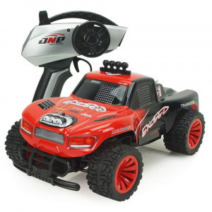 AHAHOO RC Cars 1:16 Scale 2.4Ghz High Speed 15MPH+ Radio Remote Control Monster Trucks 2WD Fast Electric Hobby Vehicle with LED Light and Sound