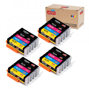 JIMIGO 20-Pack PGI-250XL CLI-251XL Compatible Ink Cartridge replacement for Canon PGI 250 CLI 251 ink, for Canon PIXMA MX922, Canon PIXMA IX6820 IP7220 IP8720 MG5520 MG5420 MG5620 MG6620 MG7520 MG7120