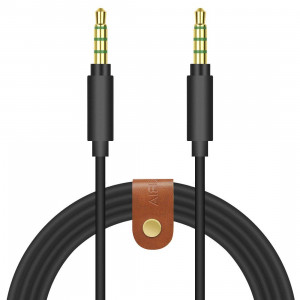 Geekria Gaming headset cable extension for Turtle Beach Talkback cord/Chat cable/Audio cord for the PS4/Xbox One Controller with 3.5mm Male to Male Headset Jack (Black Flat 3FT)