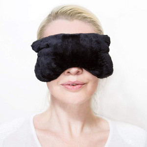 Aromatherapy Eye Pillow Mask Microwavable Heated: Perfect for Yoga and Relax, Helps Relief Headache, Sinus, Migraine, Dry Eyes, and Improves Sleeping Quality, While Using Hot, Warm or Cold  by ZORELL
