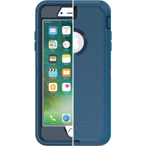 iPhone 8 Plus Case - OtterBox DEFENDER SERIES Case for iPhone 8 PLUS and iPhone 7 PLUS (Case Only - Holster Not Included) Blue