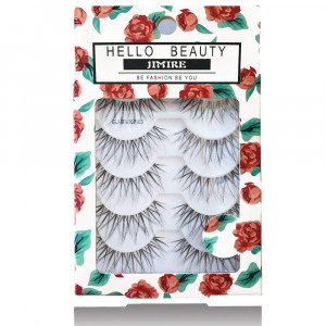 JMIRE HELLO BEAUTY Multipack Glam Wispies 614 Lashes