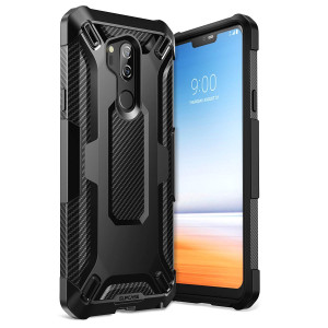 LG G7 Case, LG G7 ThinQ Case SUPCASE Unicorn Beetle Series Premium Hybrid Protective Case for Samsung Galaxy LG G7/LG G7 ThinQ 2018 Release, Retail Package (Black)