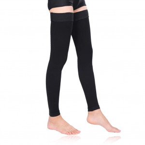 MEJORMEN Thigh High Compression Stockings Women 30-40mmHg Best Socks for Pregnancy, Sports, Flight Travel, Shin Splints, Varicose Veins