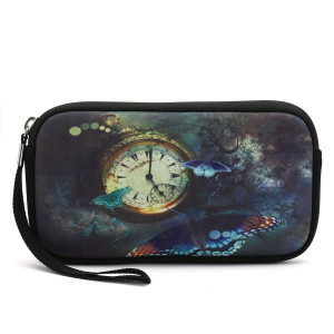 iColor Coin Change Purse Holder Pouch Wallet Cell Phone Case Camera Case Cosmetic Bag