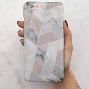 iPhone 6 Case, iPhone 6s Case, LUMARKE Girls Women Marble Best Protective Heavy Duty Slim Fit Cute Thin Clear Shockproof Rubber Silicone TPU Cover Phone Case for iPhone 6 6s