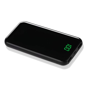 2018 10000mah Ultra Slim Portable Charger External Battery Pack High Capacity 2 USB Ports Power Bank for Phones Tablets ExpertPower