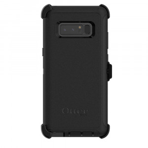 OtterBox Defender Series Case and Holster for Galaxy Note8 (Screenless Edition) (Certified Refurbished) (Black)