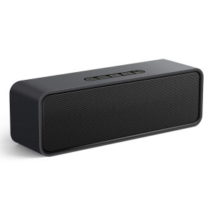 Zibet Bluetooth Speaker Portable Bluetooth 4.2 Stereo Speaker 15-Hour Playtime, 6W Dual-Driver,AUX,USB,TF Card Ports Built-in Microphone,Works iPhone, iPod, iPad, Samsung, LG,Laptops