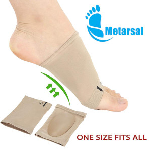 Metarsal Compression Arch Support Sleeves Sock with Comfort Gel Pad