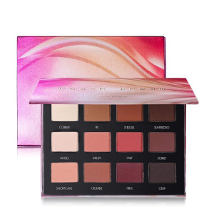 Peach Dream Palette - 12 Matte Eyeshadow Palette Brown Pink Red Neutral Warm Eye shadow Makeup Pallet by Prism Makeup