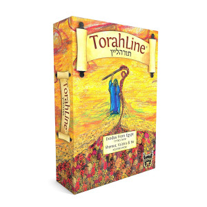 TorahLine Game - Fun Jewish/Torah Learning (English/Hebrew 2nd Ed.)