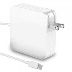 87W USB-C Power Adapter Charger with 6.58ft USB C To USB C Charge Cable