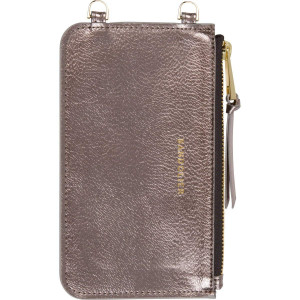 Bandolier [Emma] Metallic Ash and Gold Hardware Detachable Pouch for Any Bandolier Phone Case. Included - 1 Pouch.