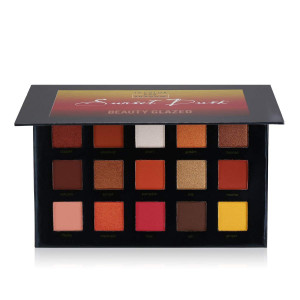 The Sunset Dusk Palette | 15 Color Eye Shadow of BEAUTY GLAZED Eyeshadow Palette | QyeeCosmetics.