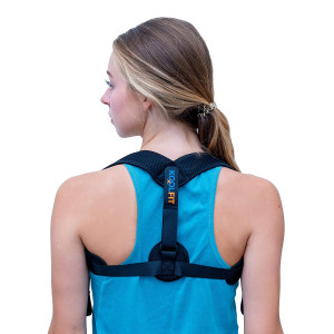 KOOLFIT Back Posture Corrector  Adjustable Back Brace Corrector for Men and Women  Shoulder Pain Relief  Comfortable and User-Friendly  Supports Fast Injury Recovery  Prevents Hunching, Slouching