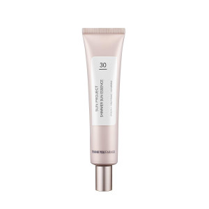 THANKYOU FARMER Sun Project Shimmer Sun Essence SPF 30+ PA++ | Makeup Primer, Glowing and Flawless Look | by Thank you Farmer