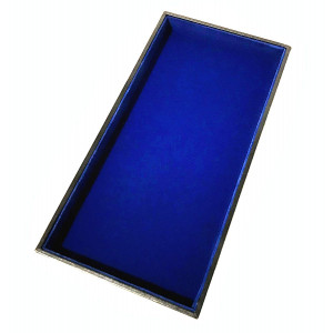"""Royal Blue Dice Tray - 12"""" x 6"""" - For Any Dice Or Board Games, Tabletop RPGs like DandD (DnD), Pathfinder Roleplaying Game"""