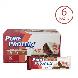 Pure Protein Peppermint Bark Cake - 50 grams, 6 count