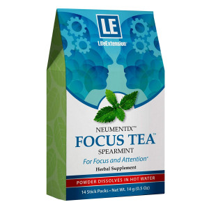 Life Extension Focus Tea 14 Stick Packs, 14 Gram