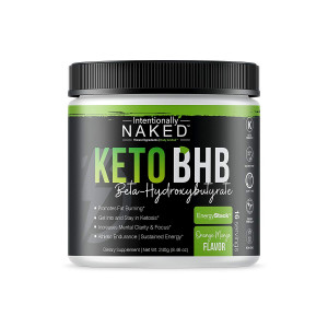 Keto BHB Salts Caffeine Free  Promotes Fat Burn - Energy, Pre Workout, Mental Clarity  Beta Hydroxybutyrate Exogenous Ketones Supplement - Formulated for Easy Ketosis  Orange Mango, 16 Servings