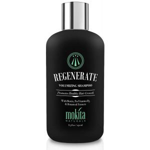 Hair Growth and Volumizing Shampoo 8.5 Oz | Thickening Unisex Shampoo Infused with Biotin, ProVitamin B5 and 7 Botanical Extracts | Thinning, Fine Hair, Hair Loss | Vegan Friendly | Mokita Naturals