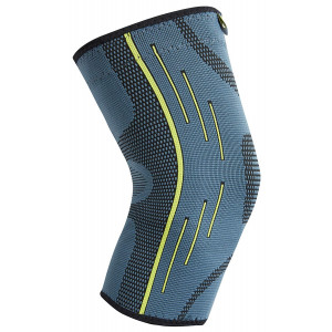 AIvada Knee Brace Compression Sleeve Support Wraps Anti-Slip Firm Grip - Prevent Injuries, Get Pain Relief, Improved Mobility - Ideal as Crossfit, Weightlifting, Powerlifting, Running Single