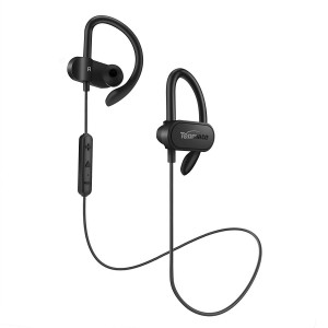 Topmate Bluetooth Earphones Wireless Earbuds   IPX5 Waterproof w/Mic Headphones HD Stereo Sports Headsets   Long Playtime Up to 10 Hours Running