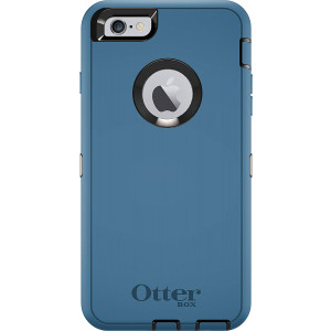OtterBox DEFENDER Case for iPhone 6s PLUS and 6 PLUS, Case only (No Holster/Screen Protector) DEEP WATER BLUE / BLACK