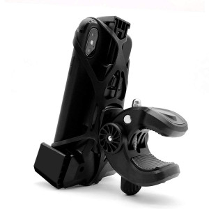 Widras Bike Cell Phone Holder 3rd Generation   Bicycle Mount for iPhone X 8 7 6 5 Plus   Samsung Galaxy S5 S6 S7 S8 S9 Note or Any Smartphone and GPS  Mountain and Road Bicycle Handlebar Cradle