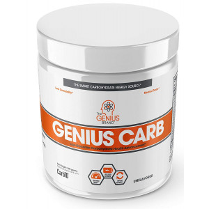 Genius Carbohydrate Powder  Smart Carb Source for Pre, Intra or Post Workout |Sustain Energy, Speed Recovery and Gain Lean Muscle Mass  Healthier Alternative to Dextrose - Sport Performance Drink