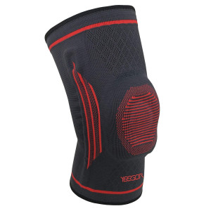 YEEGOR Knee Compression Sleeve Brace - Knee Support Meniscus Tear Injury Recovery ACL Pain Relief Arthritis Running Side Stabilizers Men and Women Single