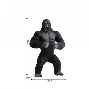 King Kong Toys for Kids, Realistic Simulation Solid Animal Chimpanzee Toys