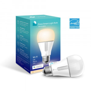 TP-LINK Kasa Smart Wi-Fi LED Light Bulb (KL110), Dimmable