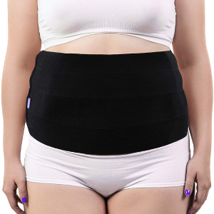 Everyday Medical Plus Size Abdominal Binder for Large Men and Women - Tummy Stomach Holder Wrap  XL-2XL-3XL Bariatric Abdominal Binder - Obesity Girdle Brace - Plus Size Lumbar Support - 3XL