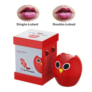 Fofashion New Lip Plumper Enhancer,Sexy Owl Lip Enhancer Pump Beauty Silicone Enlarge Mouth Lips Enlargement Tools Plumping Bigger Lips Device