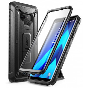 Samsung Galaxy Note 9 Case, SUPCASE Full-Body Rugged Holster Case with Built-in Screen Protector and Kickstand for Galaxy Note 9 (2018 Release), Unicorn Beetle Pro Series - Retail Package (Black)