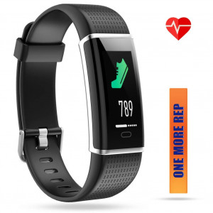 ZURURU Waterproof Fitness Tracker, Color Screen Sport Smart Watch with Calorie, Stepand Distance Counter, Pedometer, Sleep andHeart Rate Monitor, Activity Tracker for Smart Phones Gift.