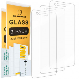 [3-PACK]-Mr Shield For LG Aristo 2 Plus [Tempered Glass] Screen Protector with Lifetime Replacement Warranty