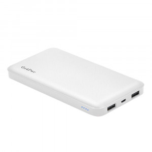 Power bank,Go4Pwr 10000mAh Power Bank Portable Charger Powerbank 2-Port External Battery Charger Compatible With Smartphone and More