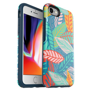 OtterBox Symmetry Series Cell Phone Case for iPhone 8 and iPhone 7 - Anegada by Trefle